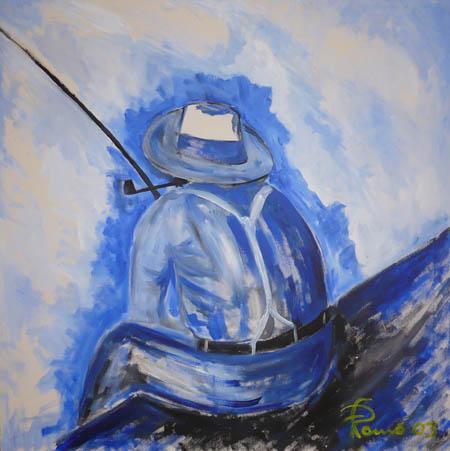 Risultati immagini per pescatore solitario
